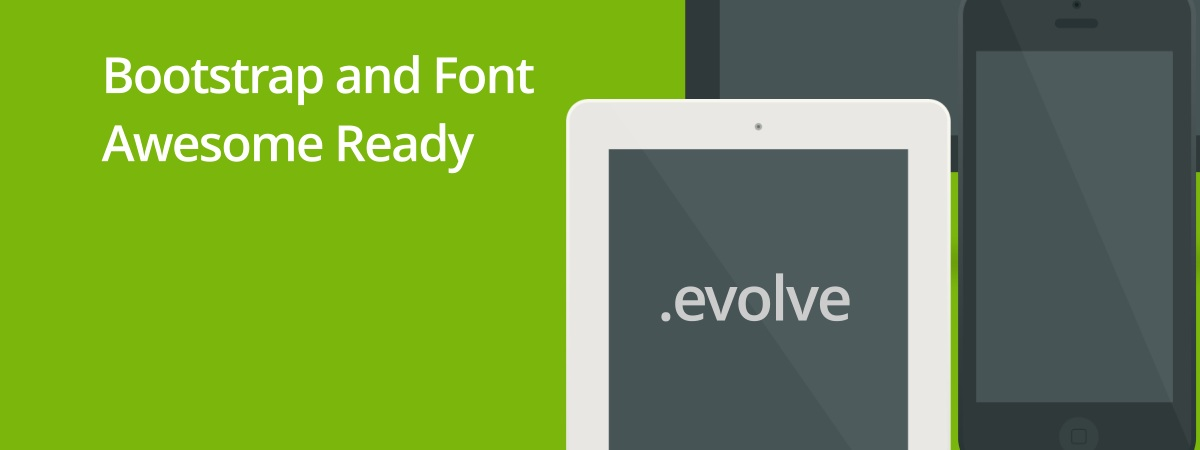 Bootstrap and Font Awesome Ready